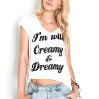 Creamy and Dreamy Graphic Tee