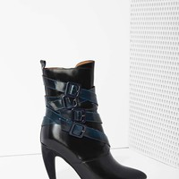 Jeffrey Campbell Destroyer Box Leather Bootie