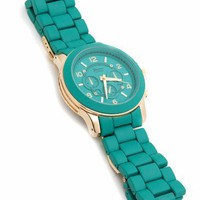 matte-boyfriend-watch BLACKGOLD FORESTGOLD GOLD TEALGOLD - GoJane.com