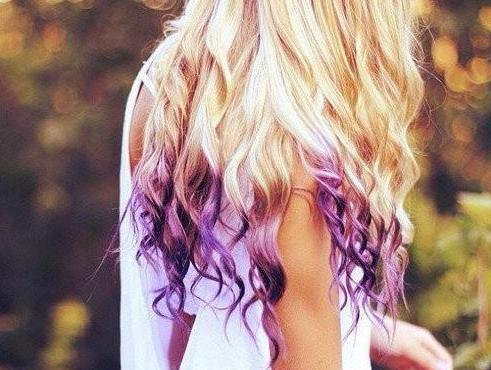 Temporary Hair Color - Dip Dye, PICK A COLOR - Hippie Hair