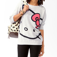 Relaxed Hello Kitty Pullover