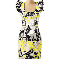 Flutter Sleeve Floral Dress - Short Dresses - DRESSES - Jessica Simpson Collection