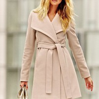 Belted Wrap Coat - Michael by Michael Kors - Victoria's Secret