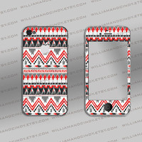 Iphone 4 sticker wrap - Tribal - iPhone 4s cover