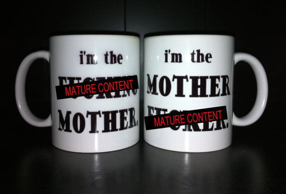 his and hers coffee mugs mature content from muggzilla. Black Bedroom Furniture Sets. Home Design Ideas