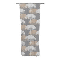"Julia Grifol ""Charming Tree"" Decorative Sheer Curtain - 30"" x 84"""