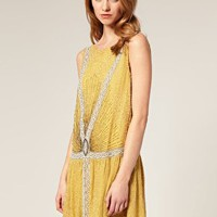 ASOS | ASOS SALON Beaded Flapper Dress at ASOS