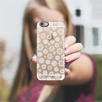 Mini Flurries (transparent) iPhone 6 case by Lisa Argyropoulos | Casetify