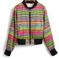 Colorful Stripes Outerwear$65.00