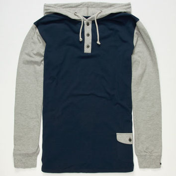 Rusty Mad Libs Mens Hoodie Navy  In Sizes