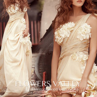Bridesmaid Dress / Romantic / dresses /Fairy / Dreamy / Bridesmaid / Flower / Wedding Dress / Bride /
