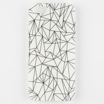 White Geo Fold Iphone 5/5S Case White One Size For Men 25220315001