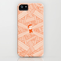 Labyrinth iPhone & iPod Case by Jarvis Glasses