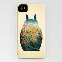 Tonari no Totoro iPhone Case by Victor Vercesi | Society6