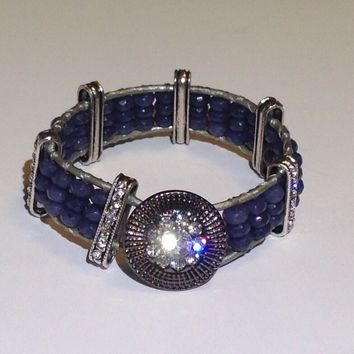 Handmade Bracelet in Blue
