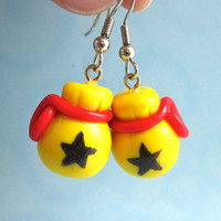 Animal Crossing Bag of Bells earrings