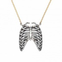 Love, Adorned : MICHAEL SPIRITO RIBCAGE NECKLACE