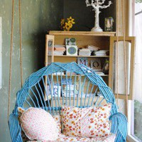 Around The Bend Willow Swing | The Gypsy Wagon