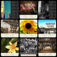 Choose your 2015 One Page Calendar - Fine Art Photography