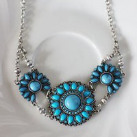 Turchino Turquoise Trio Necklace