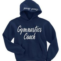 Gymnastics Coach Customizable Hoodie