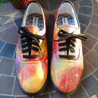 Women's Sunburst Galaxy Shoes