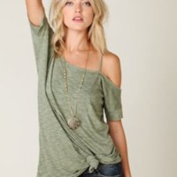 Free People We The Free Off the Shoulder Extreme Tunic at Free People Clothing Boutique