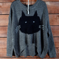 Adorable Grumpy Cat Sweater