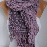 Scarf Fall Winter Accessories Cowl Scarf Oversize Shawl Cotton Scarf Gift Ideas For Her Women Fashion Accessories Christmas Gift