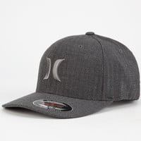 Hurley One & Textures Mens Hat Charcoal