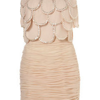 Embellished Scallop Dress**RO - Dresses  - Clothing