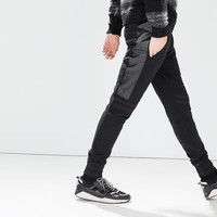 Trousers with side panels