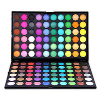 [US$ 17.19] Dazzling, Matte and Shimmer 120 Colors Makeup Eye Shadow