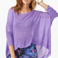 Sunrise Knit - Lilac