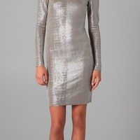 Alice + Olivia Tabitha Fitted Dress