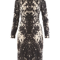 Buy ALEXANDER MCQUEEN Peppered pony dress from Matches Fashion