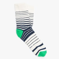 Verigated Stripe Sock