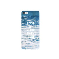 LOST IN YOUR BABY BLUE IPHONE CASE