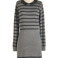 Sugarhill Boutique Long Sleeve Sweater Dress Exciting Excursion Dress