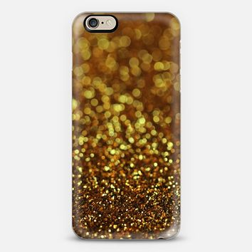 Gold Glitter iPhone 6 case by Tangerine- Tane | Casetify