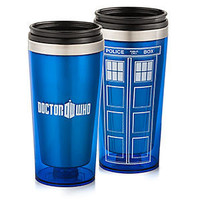 Doctor Who 16oz Travel Mug