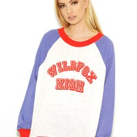 Wildfox Wildfox High Kims Sweater in Vintage Lace