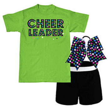 Polkadot Cheerleader Campwear Package