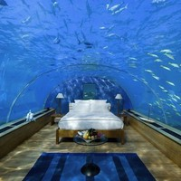 Clearly Special: A Hotel Bedroom Under the Sea | Apartment Therapy DC