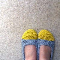 Crochet Slippers For Women In Yello.. on Luulla