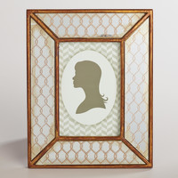 Byrdie Antiqued Mirror Frame - World Market