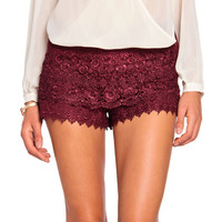 Crochet Shorts
