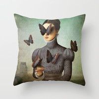 There is Love in you Throw Pillow by Christian Schloe