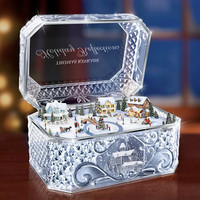 The Thomas Kinkade Crystal Music Box