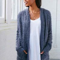 Love Madly Cozy Hooded Cozy Cardigan Sweater - Urban Outfitters